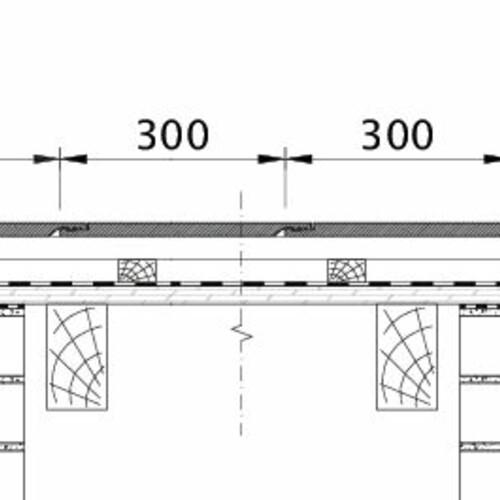Tehnična skica izdelka KAPSTADT ORL EBENE-BDS-1