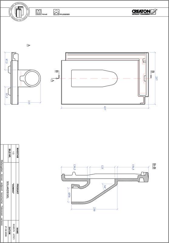 CAD datoteka izdelka DOMINO Solar SOLAR