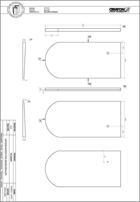 CAD datoteka izdelka KAPSTADT okrogla oblika RUND-UNTERLAEUFER