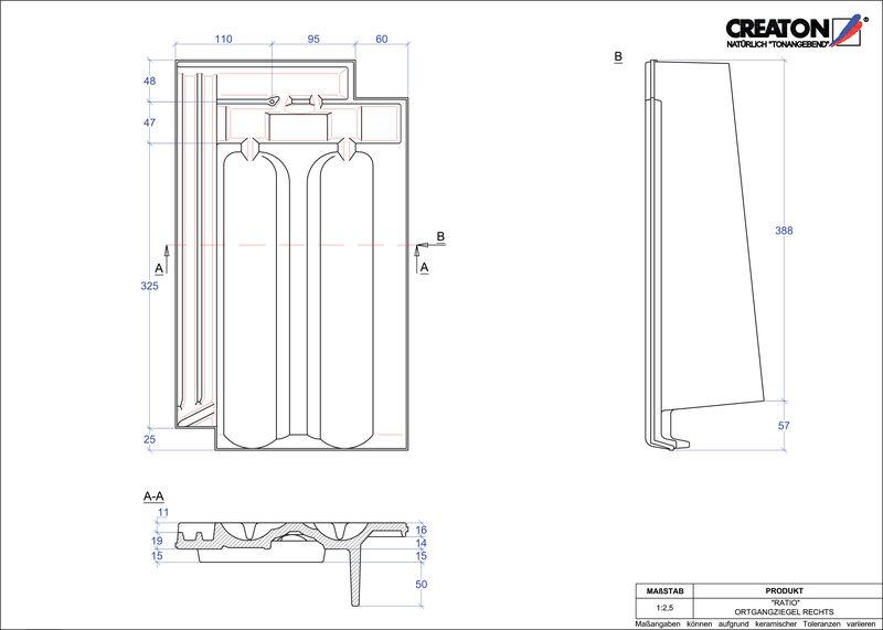 CAD datoteka izdelka RATIO krajnik desni OGR