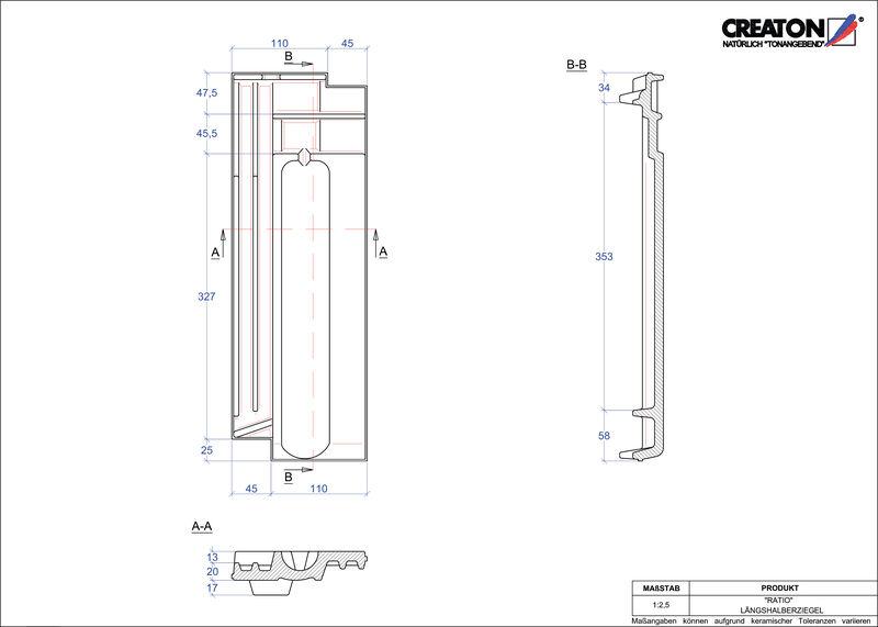 CAD datoteka izdelka RATIO polovička LH