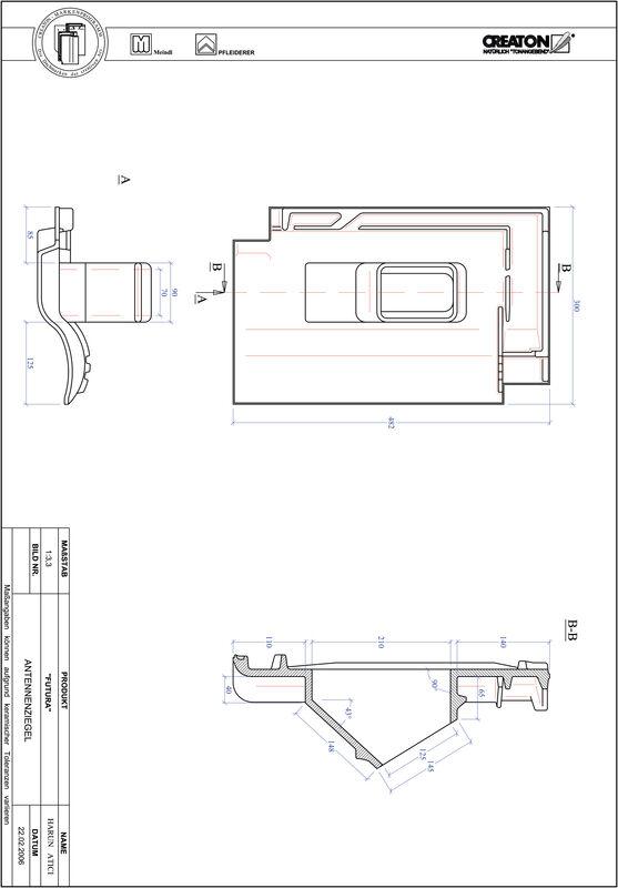 CAD datoteka izdelka FUTURA Aerial ANTENNE