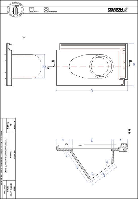 CAD datoteka izdelka DOMINO Thermal THERME
